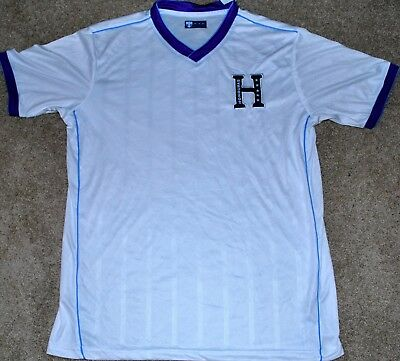 HONDURAS MENS SOCCER FUTBOL JERSEY FIFA WORLD CUP MED- LG- - XL NEW READ AD