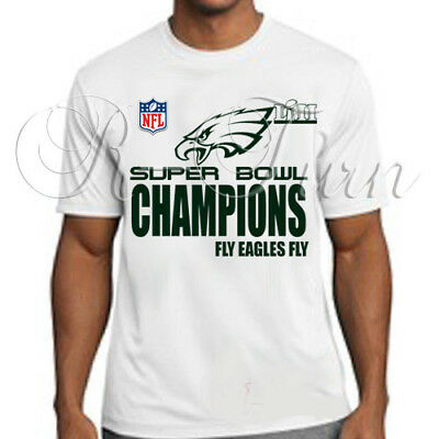 2018 PHILADELPHIA EAGLES SUPER BOWL Championship locker room type t-shirt tee  b