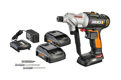 WORX WX176L-5 Switchdriver 20V PowerShare Cordless Drill - Driver 2 Batteries