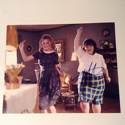 Amanda Bynes - Nikki Blonsky signed autograph Hairspray 8x10 photo COA