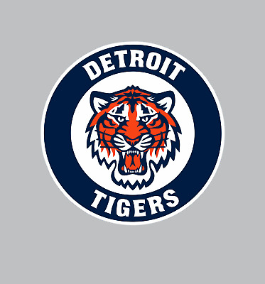 Detroit Tigers MLB Baseball Color Logo Sports Decal Sticker-FREE SHIPPING