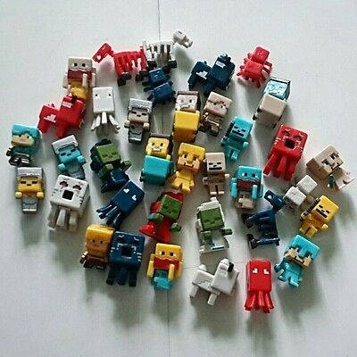 Fancy Your Favourites 36PCS Minecraft Biome Settlers Series Mini Figures US