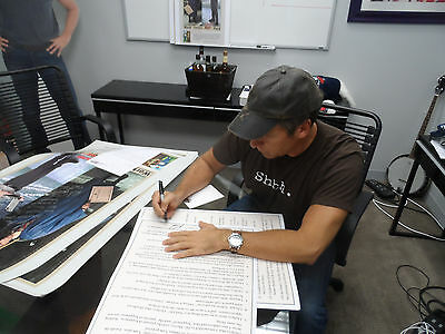 Mike Rowe - mikeroweWORKS S-W-E-A-T- Pledge Poster  PERSONALIZED