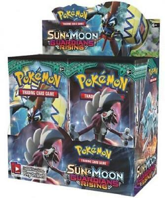 POKEMON TCG SUN - MOON GUARDIANS RISING BOOSTER SEALED BOX - ENGLISH - IN-STOCK