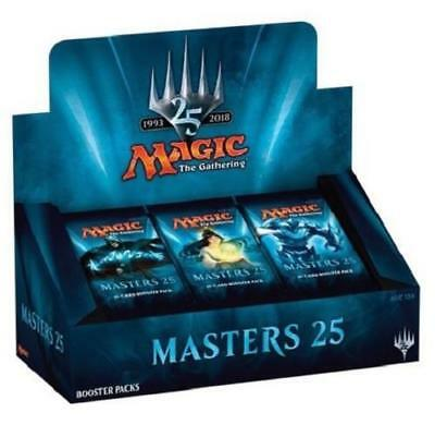 Magic the Gathering Masters 25 New Factory Sealed Booster Box