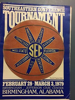 1979 Southeastern Conference SEC TournamentFeb 28 - Mar 3TENNESSEE WON IN OT
