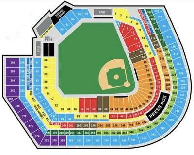 1-5 Tickets Baltimore Orioles vs Twins Opening day 329 86 Row 1213 Piggyback