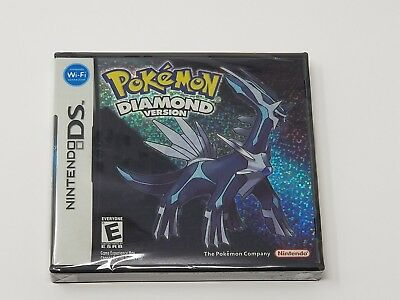 Pokemon Diamond Version Nintendo DS 2007 Brand New Sealed Fast Shipping