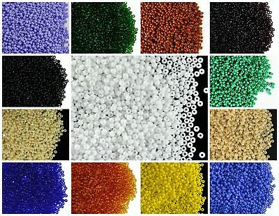 CHOOSE COLOR 10g 110 Cut Seed Beads Preciosa Ornela Czech Glass