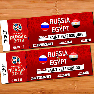 FIFA WORLD CUP RUSSIA 2018 - RUSSIA VS EGYPT - CAT 2