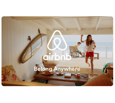 Buy a 200 Airbnb Gift Card get an addtl 20 on your card 220 value Emailed
