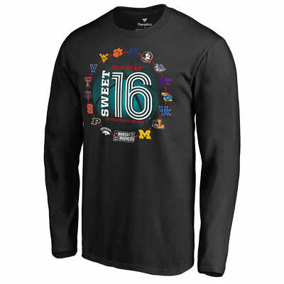 March Madness Sweet 16 Bound Backboard LS T-Shirt – NCAA Tournament 2018