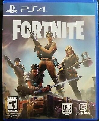 Fortnite Physical Disc - Early Access Pack  PlayStation 4 PS4 FAST Shipping