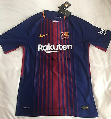 201718 FC Barcelona Home Vapor Kit -Messi - Player issue with FREE patch