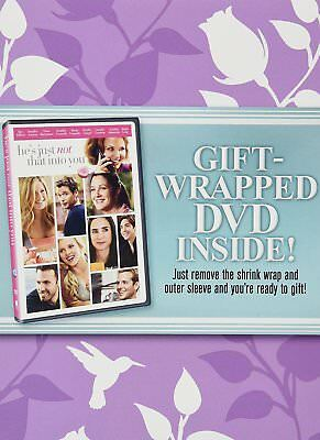 Hes Just Not That Into You DVD 2011 Mothers Day Gift-Wrapped Full - WS