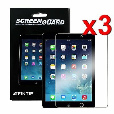 3pcs Clear Screen Protector Film for New iPad 6th Gen 9-7 inch 2018 A1893 A1954