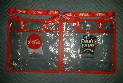 2018 NCAA FINAL FOUR MARCH MADNESS CAPITAL ONE FAN FEST BAG COCA COLA
