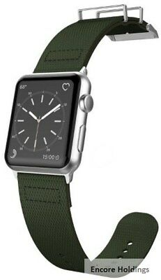 X-Doria 6950941456951 Field Band for 1-7-inch Apple Watch - Olive