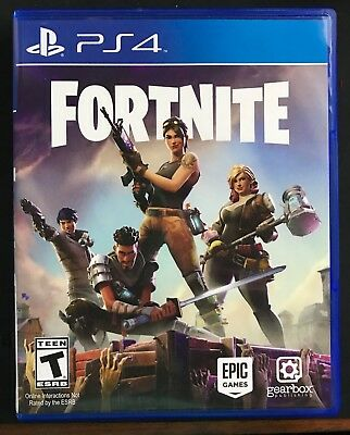 MINT DISC  Fortnite Sony PlayStation 4 2017 PS4