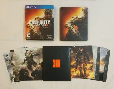 Call of Duty Black Ops III 3 ☆Hardened Edition☆ PS4 - CIB