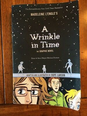A Wrinkle in Time the Graphic Novel by Madeleine LEngle 2015 Paperback