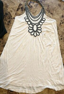 New Womens Wet Seal Beaded Tank Top Size X-Small