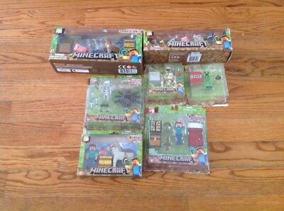 Minecraft Toy Lot