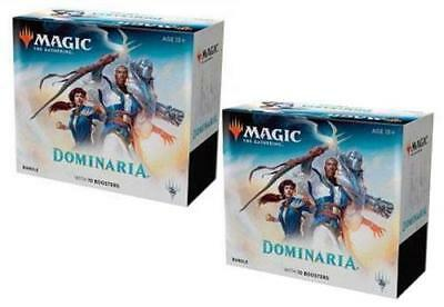 English Magic the Gathering Dominaria Booster 2 BUNDLE Boxes IN HAND