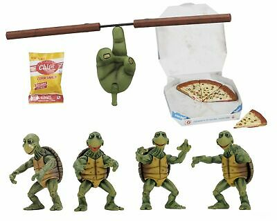 Teenage Mutant Ninja Turtles 14 Scale Action Figures – Baby Turtles Set - NECA