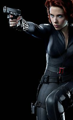 The Avengers Black Widow - Scarlett Johansson Promo Poster 24x36 v3 NEW