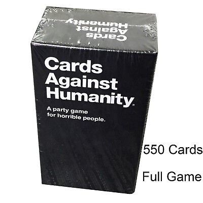 Cards Against Humanity 550 Cards Full Base Set Pack in BOX