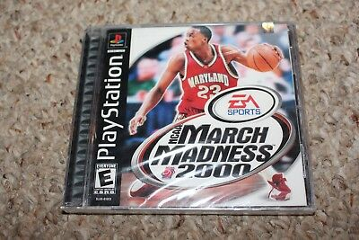 Ncaa March Madness 2000 Sony Playstation ps1 NEW Factory Sealed Mint