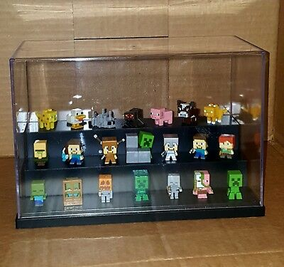 Minecraft Minis Figures Lot Steve Monsters Zombie Animals Retired Series HTF