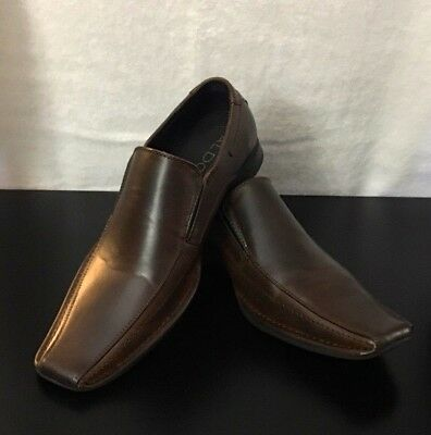 ALDO Mens Brown Casual Slip On Shoes
