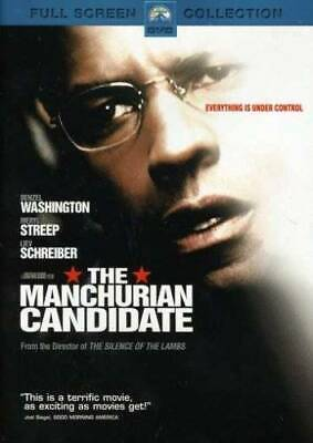 The Manchurian Candidate Full Screen Edition - DVD - VERY GOOD