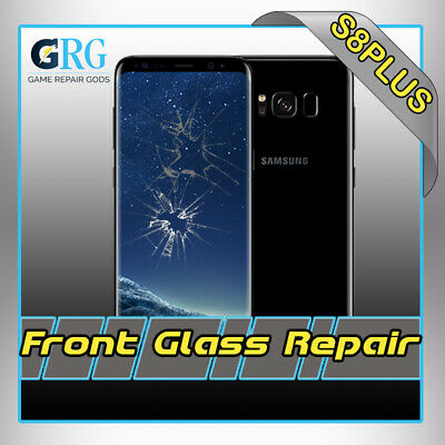 Samsung Galaxy S8 Plus Cracked Screen Glass Repair Replacement Mail In Service