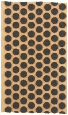 120 38 Brown Felt Dots Surface Protector Pad Trophy Cabinet Furniture Crafts