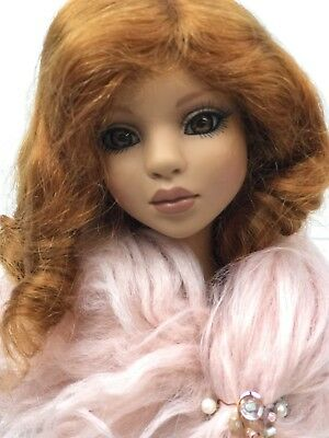 TONNER - WIG ONLY - Size 7-8 Ginger Spice Red 100 MOHAIR