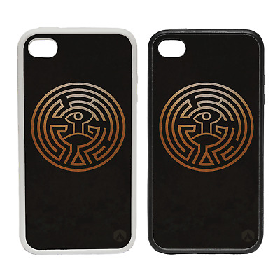 GOLDEN MAZE RUBBER AND PLASTIC PHONE COVER CASE 1 WEST ANDROID WORLD
