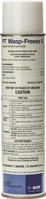PT Wasp Freeze II Wasp and Hornet Insecticide Aerosol BASF Spray Can Quick