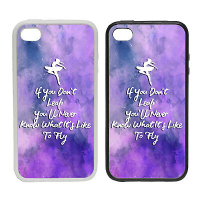 WHAT ITS LIKE TO FLY RUBBER AND PLASTIC PHONE COVER CASE 1 GIRLS DANCE