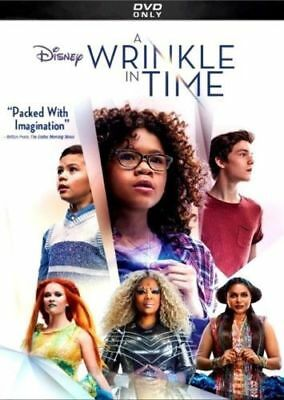 A WRINKLE IN TIME DVD2018 NEW Adventure Science Fiction Family Fantasy