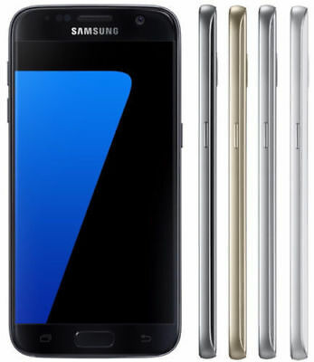 Samsung Galaxy S7 32GB G930T Unlocked GSM 4G LTE Android Smartphone Shadow LCD