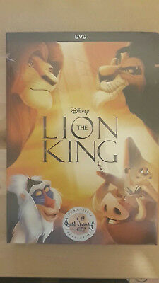 The Lion King DVD 2017 - Free and Fast  shipping