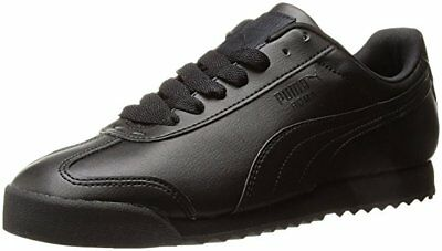 Puma Roma Basic Classic 35357217 Black Mens Shoes Sneakers All Sizes