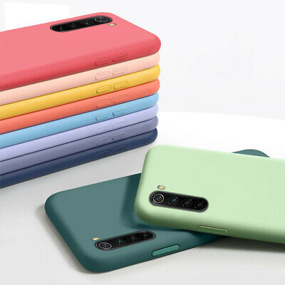 For Xiaomi Redmi Note 9S 8T 8 7 Pro Mi A3 Liquid Silicone Shockproof Case Cover