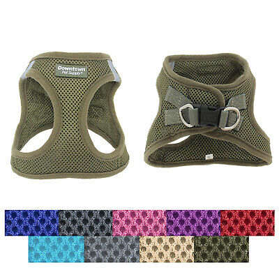 Best No Pull Step in Adjustable Dog Harness Easy on for Dogs Small Medium Large