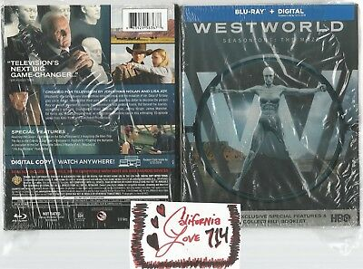 WESTWORLD SEASON ONE BLU-RAY COMPLETE 3-DISC SET BOX THE MAZE ✔MINT✔ NO DIGITAL