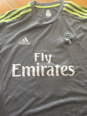 Mens Adidas Real Madrid Away Shirt 11 Bale Medium