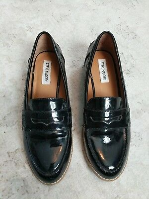 Steve Madden Patent Leather Loafer Size 9